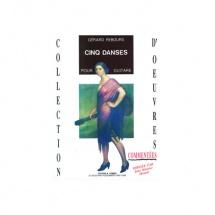 Rebours Gerard - Danses (5) - Guitare