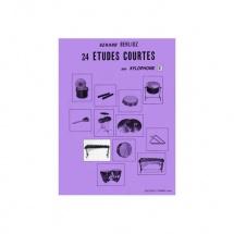 Berlioz Gerard - Etudes Courtes (24) Vol.e - Xylophone