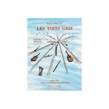 Proust Pascal - Les Toits Gris - Alto Et Piano
