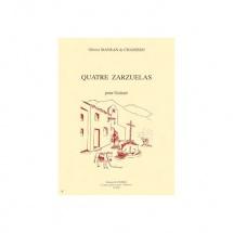 Mayran De Chamisso Olivier - Zarzuelas (4) - Guitare