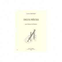 Meneret Laurent - Pieces (2) : Folkies - Marche - 4 Guitares