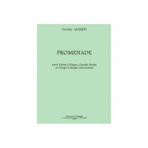 Alberti Freddy - Promenade - Grande Harpe Ou Harpe A Simple Mouvement