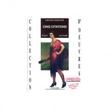 Rebours Gerard - Citations (5) - Guitare