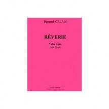 Galais Bernard - Reverie (valse Lente) - Harpe