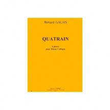Galais Bernard - Quatrain (4 Pieces) - Harpe Celtique