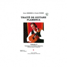 Herrero Oscar Et Worms Claude - Traite De Guitare Flamenca Vol 2