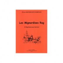 Mayran De Chamisso Olivier - Les Mignardises Rag (10 Ragtimes) - Guitare