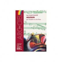 Damase Jean-michel - Arlequin - Trompette En Ut Ou Sib Et Piano