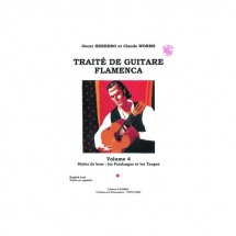 Herrero Oscar Et Worms Claude - Traite De Guitare Flamenca Vol 4 + Cd