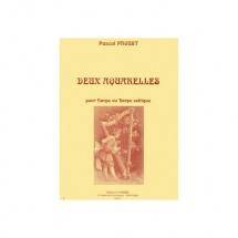 Proust Pascal - Aquarelles (2) - Harpe Ou Harpe Celtique