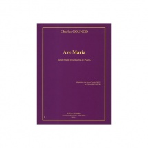 Gounod Charles - Ave Maria - Flute Et Piano