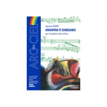 Rueff Jeanine - Andantino Et Scherzando - Saxophone Alto Et Piano