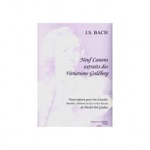 Bach Johann Sebastian - Canons (9) Extr. Variations Goldberg - Trio D