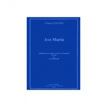 Gounod Charles - Ave Maria - Bugle (cornet Ou Trompette) Et Piano