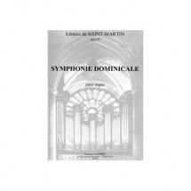 Saint-martin Leonce De - Symphonie Dominicale Op.39 - Orgue