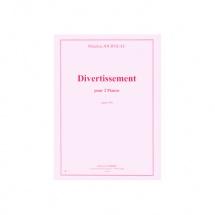 Journeau Maurice - Divertissement Op.49 - 2 Pianos