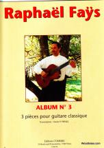 Fays Raphael - Album N°3 (3 Pieces) - Guitare