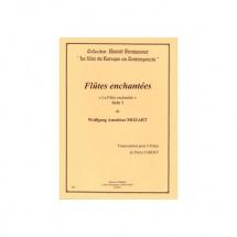 Mozart Wolfgang Amadeus - Flutes Enchantees Acte 1 - 4 Flutes