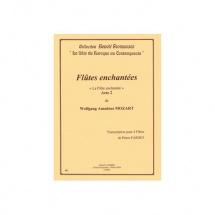 Mozart Wolfgang Amadeus - Flutes Enchantees Acte 2 - 4 Flutes