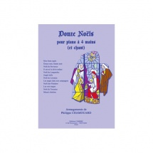 Chamouard Philippe - Noels (12) - Chant Et Piano A 4 Mains
