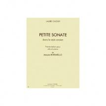 Choisy Laure - Petite Sonate Dans Le Style Ancien - Alto Et Piano