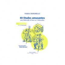 Borsarello Frederic - Etudes Amusantes  Vol.1  - Violoncelle Et Piano