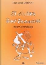 Dehant Jean-loup - Etudes Divertissantes (25) - Contrebasse