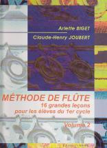 Biget & Joubert - Methode De Flute Vol.2