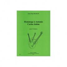 Buron Jean-paul - Hommage A Antonio Carlos Jobim - 3 Guitares