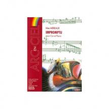 Mereaux Max - Impromptu - Cor Et Piano