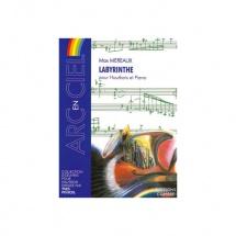 Mereaux Max - Labyrinthe - Hautbois Et Piano