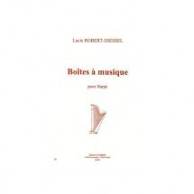 Robert-diessel Lucie - Boîtes A Musique - Harpe