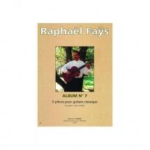 Fays Raphael - Album N.7 (5 Pieces) - Guitare
