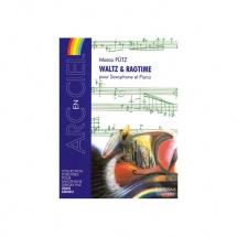Putz Marco - Waltz And Ragtime - Saxophone Et Piano