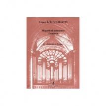 Saint-martin Leonce De - Magnificat Anima Mea Dominum - 4 Voix Mixtes Et 2 Orgues
