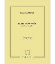 Martinet - Papa Noel - 2 Voix Egales
