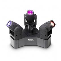 Cameo Set De 3 Projecteurs Asservis Ultra-rapides Led 10 W Cree Rgbw - Clhb300rgbw