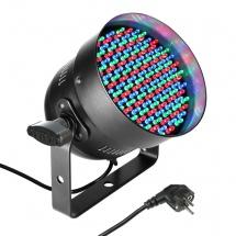 Cameo Projecteur Par A Led 5 Mm Tricolores (rgb), 151 X 3 W, Boitier Noir