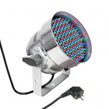 Cameo Projecteur Par A Led Tricolores (rgb), 151 X 5 Mm, Boitier Alu Poli