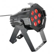 Cameo Projecteur Par Quad Colour Led 7 X 8 W Rgbw Avec Boitier Noir