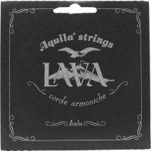 Aquila Cordes Ukulele Lava Series Baritone Baritone Gcea Sol Aigu