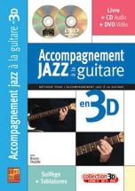 Tauzin Bruno - Accompagnement Jazz A La Guitare En 3d + Cd + Dvd