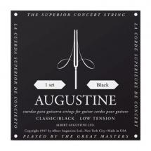 Augustine Augustine Cordes Classiques Standard Jeux Noir Faible /nylon Clair-file Argent