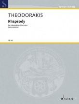 Theodorakis M. - Rhapsody - Violoncelle