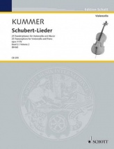 Kummer F.a. - Schubert-lieder Vol.2 - Violoncelle and Piano