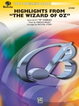 Harburg And Arlen - Wizard Of Oz, Highlights From - Symphonic Wind Band