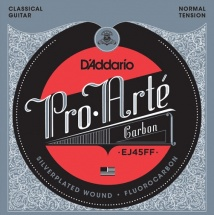 D\'addario And Co Ej45ff Pro Arte Fluorocarbon Tension Normale