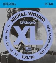 D\'addario Exl116 11-52 Nickel