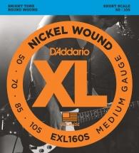 D\'addario Exl160s Medium Shortscale 50-105