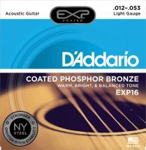 D\'addario Exp 16 Phosphore Bronze Light 12 53